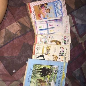 I'm selling 4 books